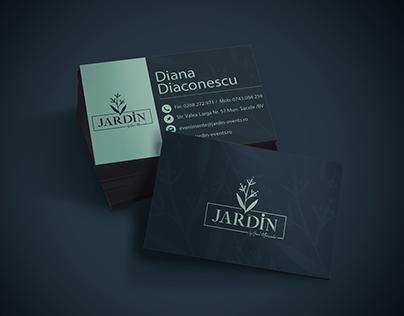 Business card Jardin