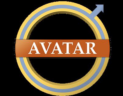 Avatar-Styled Volvo Logo Redesign
