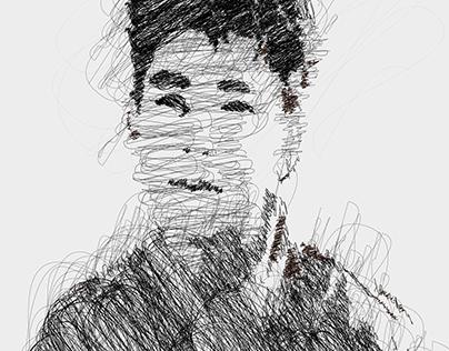 Scribble effect illustrator