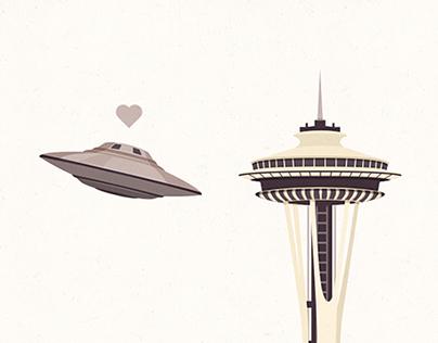 Coup de foudre à Seattle