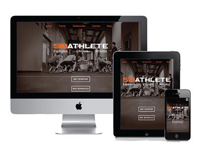 518Athlete Website Redesign