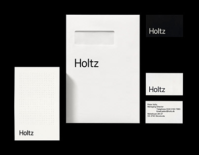 Holtz – Visual Identity