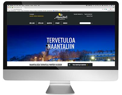 Naantalin Matkailu | Web design & branding