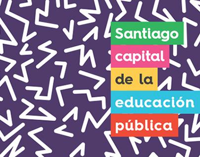 Santiago, Capital de la Educación Pública