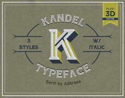 KANDEL Typeface