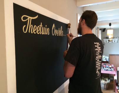 THEETUIN LETTERING