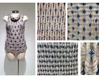 Single Bed Machine Knitting