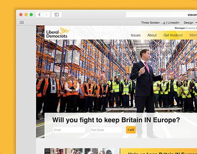 Liberal Democrats Digital Branding
