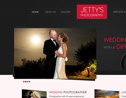 Jetty's Photography Design proposal