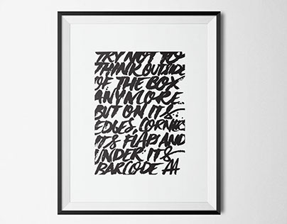 Brush Typography