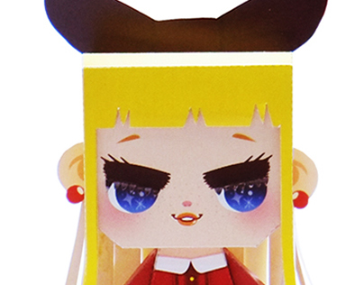 GIRLS PAPER TOY