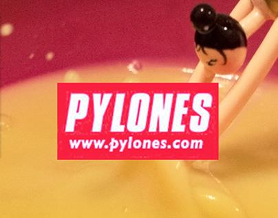 Pylones | Entertain Your Tastebuds Campaign