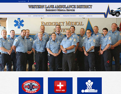 Western Lane Ambulance District Website