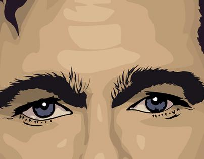 Brad Pitt Vector