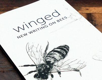 'Winged' book jacket design