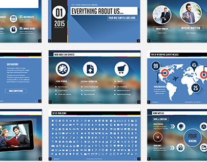 Professional PowerPoint Corporate Template