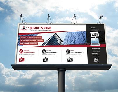 Corporate & Business Billboard Template