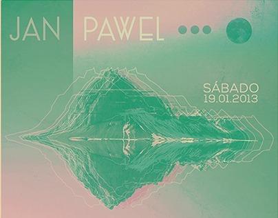 Flyer Jan Pawel & La Pequeña Revancha