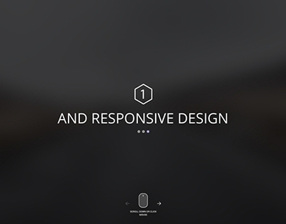 Free PSD Homepage Layout with Full-screen slider