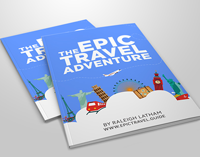 Epic Travel Adventure Ebook (Cover and Chapter Design)