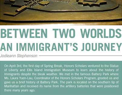 Between Two Worlds- An Immigrant's Journey