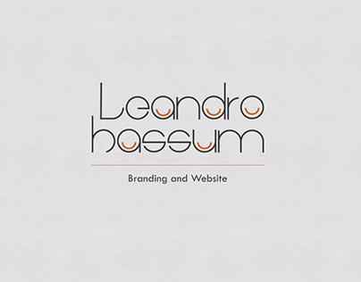 Leandro Hassum | Branding and Website