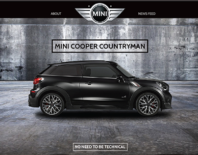 MINI Countryman - No Instructions Needed