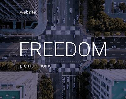"""FREEDOM"" estate site"