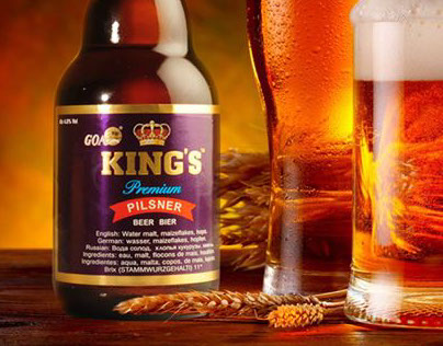 King's Beer - Corporate Redesign (Student Work)