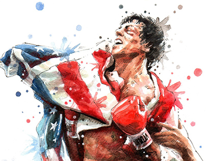 Rocky Balboa On Behance