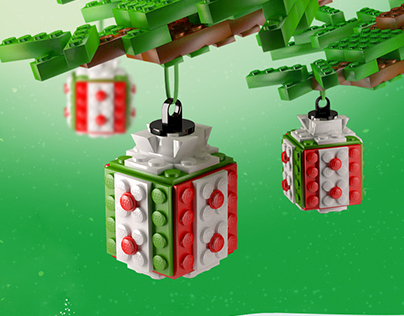 Lego - microsite visual