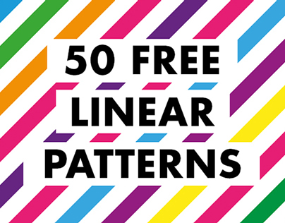 50 free linear patterns