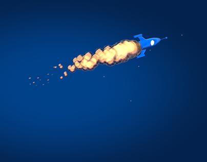 Level UP Logo Animation