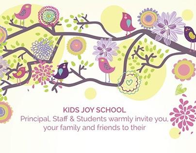 Kids Joy Annual Day Invite