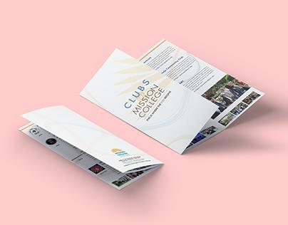Mission College Club Brochure