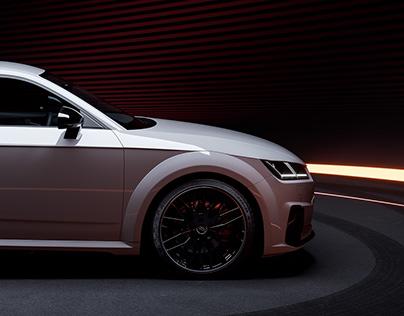 Audi TTS 2020 Studio Setup