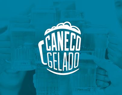 Logo Caneco Gelado / Pastelaria e cervejaria
