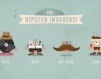 The Hipster Invaders!