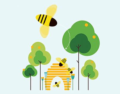 Illustration/Infographic: City Bee