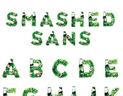 Smashed Sans