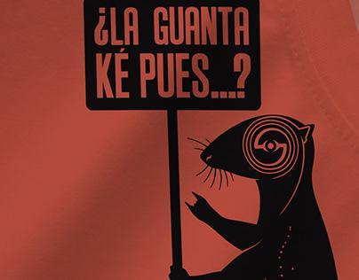 """""""La Guanta"""" para Sal y Mileto."""