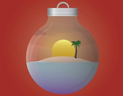 Island Christmas Album Artwork