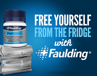 Faulding - Fridge Free Probiotics