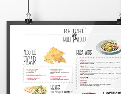 Bancal 21 Poster Design