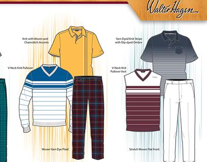 Walter Hagen Golf, Mens Fall 14