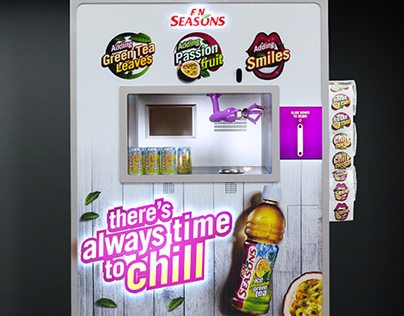 ACTIVATION F&N Seasons : Chill Booth