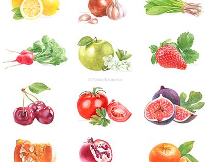 Fruit & vegetable calendar 2015