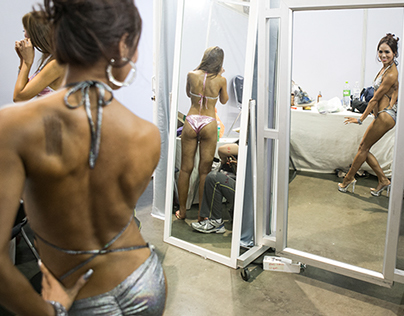 Muscle bound: Women bodybuilders embrace new curves