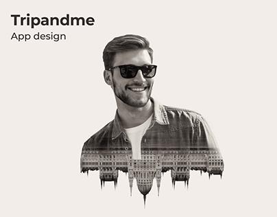 UI Design: Tripandme Mobile App