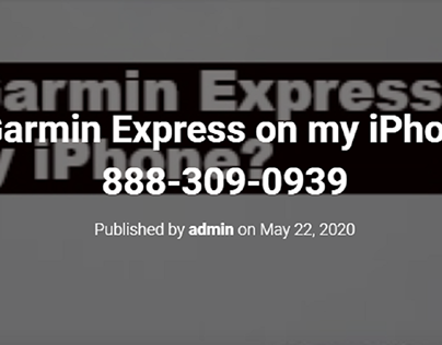 Can I get Garmin Express on my iPhone?